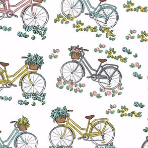 Bicycle Floral