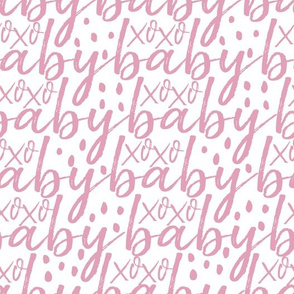 Pink Baby Gift Wrap