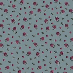 Blushing pink posy