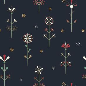 Pysanky Folklore Florals
