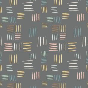 Basketweave - gray
