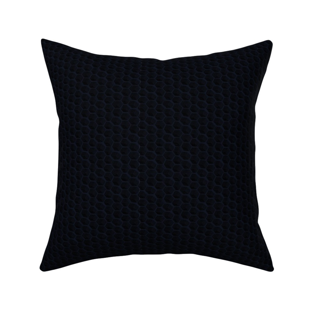 Catalan Throw Pillow featuring Honeycomb Hollows | Danse Macabre by lochnestfarm