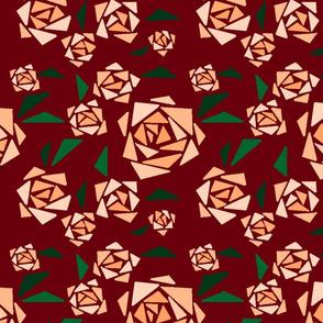 geometric mystery roses