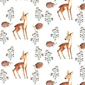 berries and deer