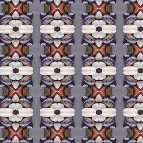 Gemstone Repeat Stripe Pattern