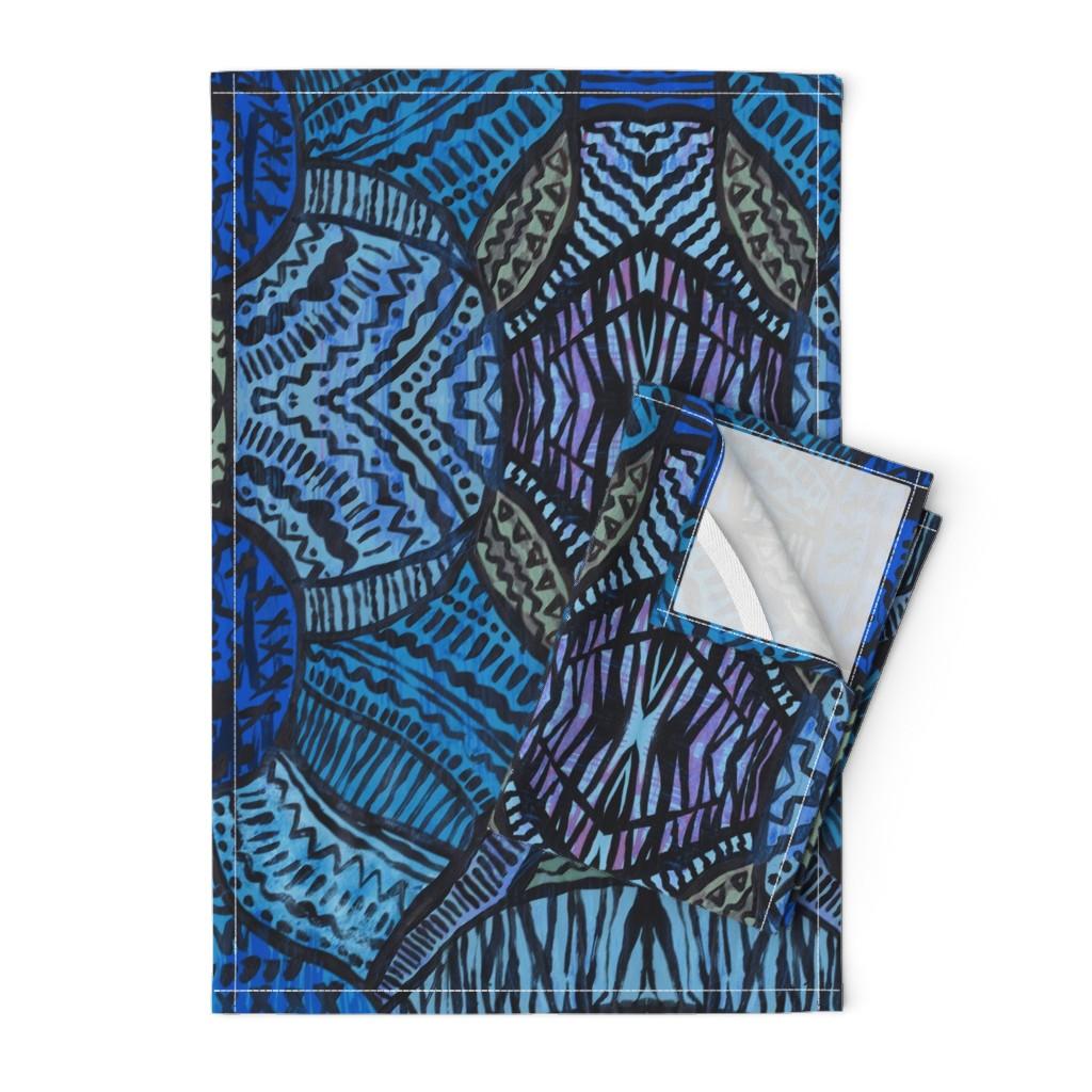 Orpington Tea Towels featuring HelloDesert by susanna_nousiainen