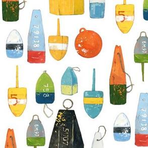 Lobster buoys (large)
