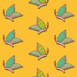 big bold butterflies