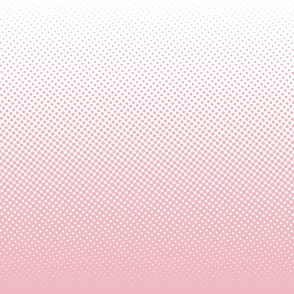 millennial pink and white one-yard gradient