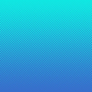 blue and cyan one-yard gradient