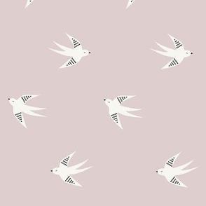 Swallow - Dusty Lilac