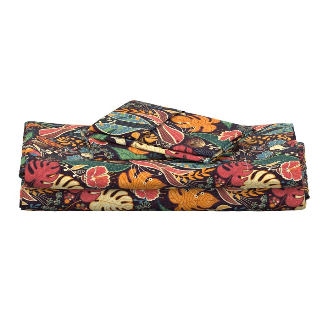 Langshan Full Bed Set featuring bohoparadise by gaiamarfurt