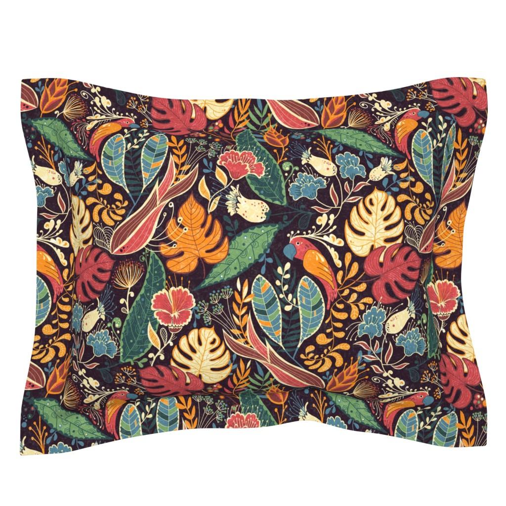 Sebright Pillow Sham featuring bohoparadise by gaiamarfurt