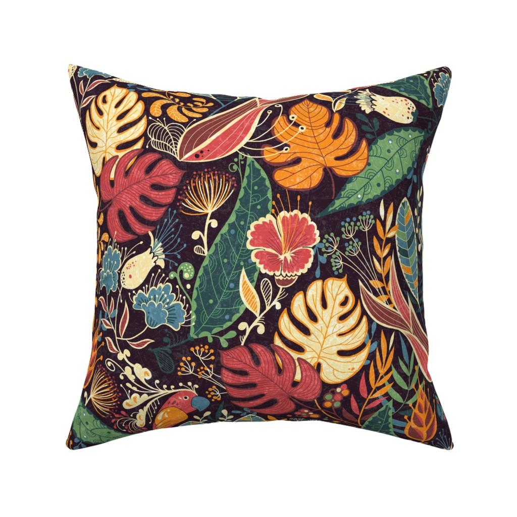 Catalan Throw Pillow featuring bohoparadise by gaiamarfurt