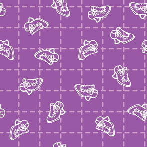 Fluevog Enthusiast Lilac