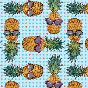Pineapple Vacation by ArtfulFreddy