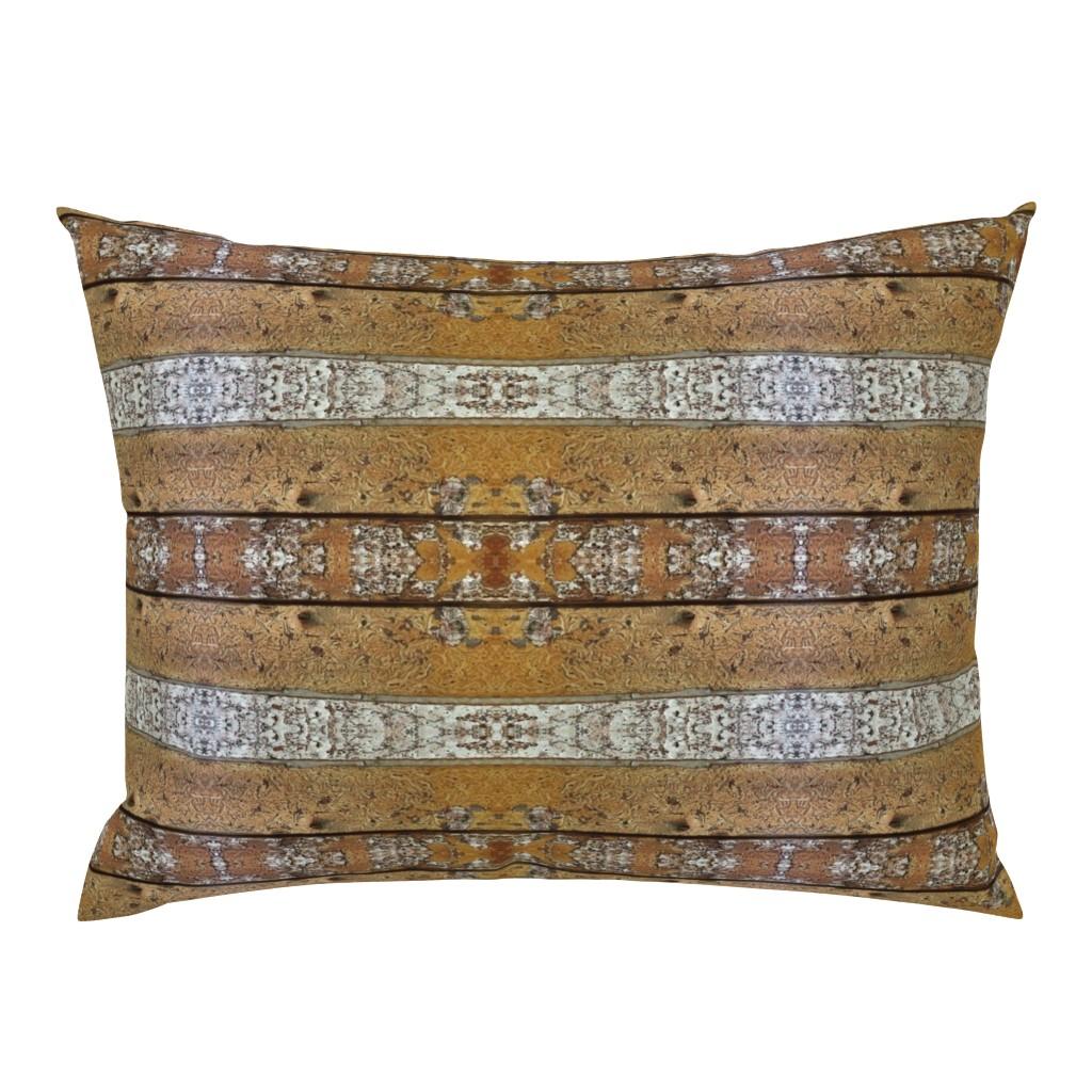 Campine Pillow Sham featuring My Neighborhood Estes Textures 2 by lauradavisartstudio