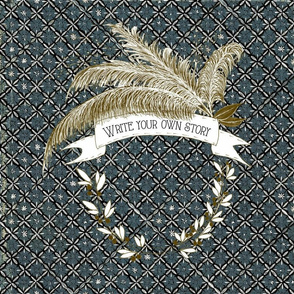 QUILLS  QUILT CHAMBRAY
