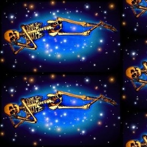 Skeleton, sleep in the stars