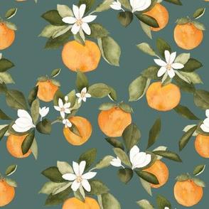 Orange Blossom Teal