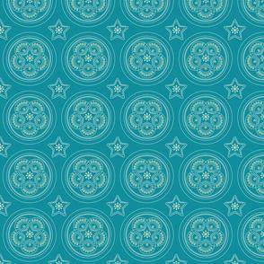 Parol Hanging Ornament (Blue)