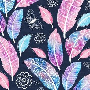 Dreamy Boho Paradise - pink/blue