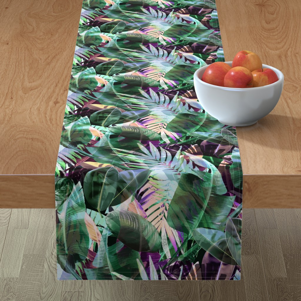 Minorca Table Runner featuring TheBohemianParadise by susanna_nousiainen