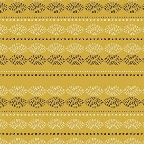 Minimal mudcloth bohemian mayan abstract indian summer aztec design summer yellow ochre SMALL