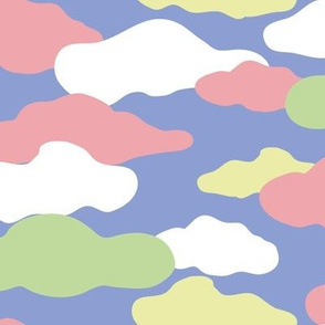Smilingflowers Candy Clouds