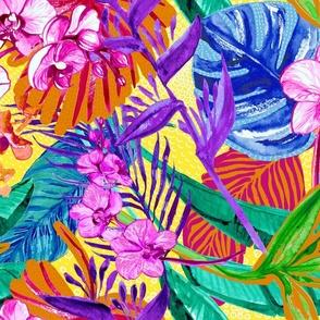 Maximalist Tropical Foliage