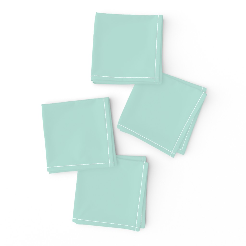 Frizzle Cocktail Napkins featuring HJ Solids - Mint by hettiejoan