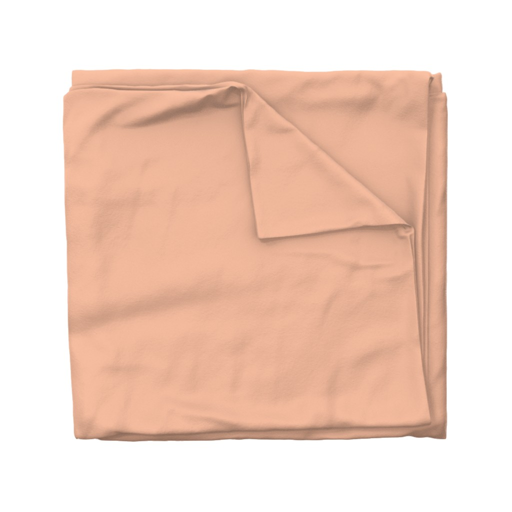 Wyandotte Duvet Cover featuring HJ Solids - Blush by hettiejoan