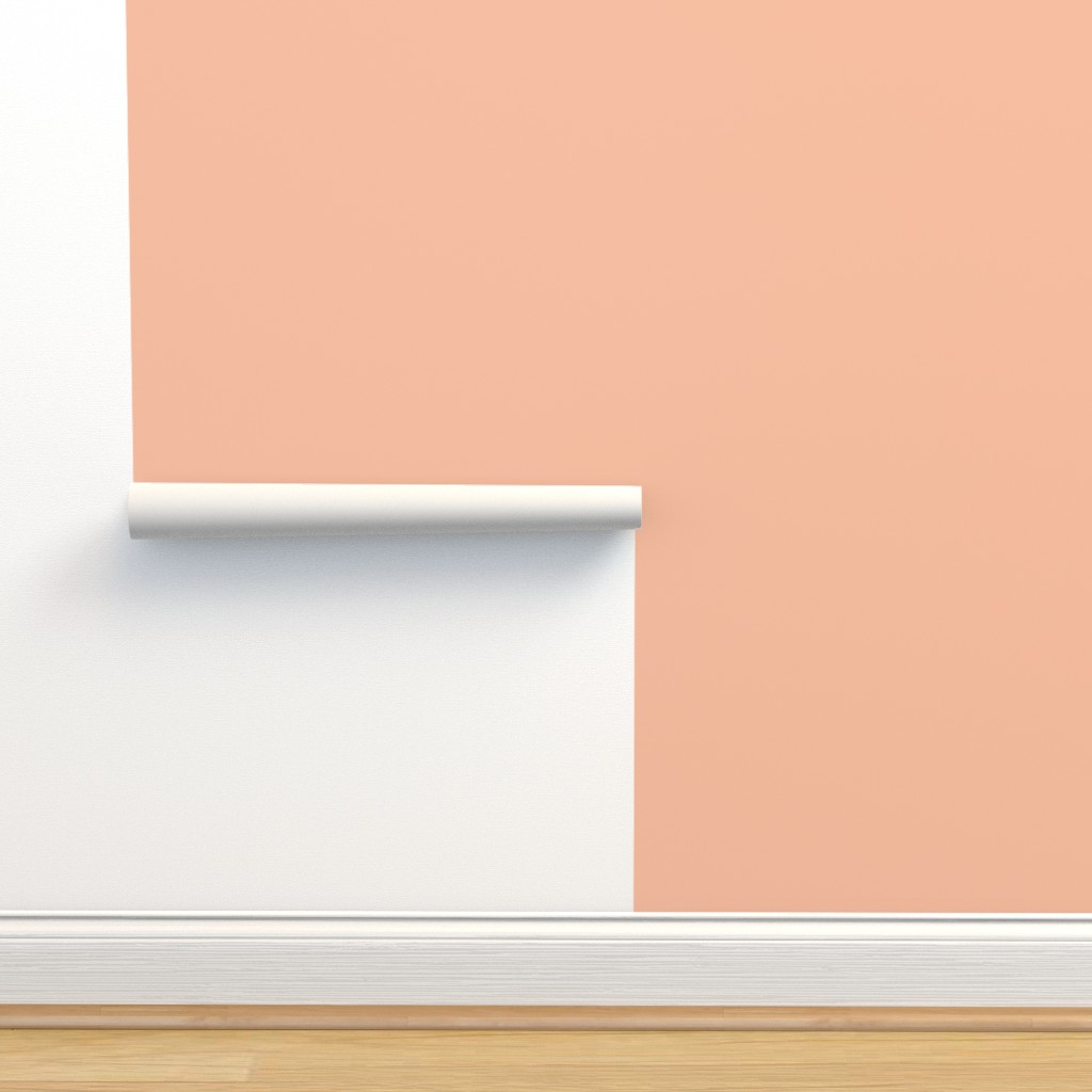 Isobar Durable Wallpaper featuring HJ Solids - Blush by hettiejoan