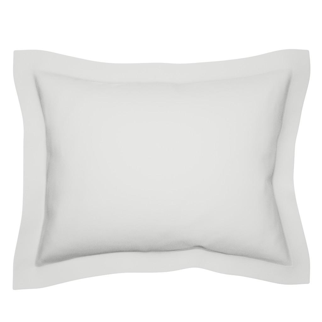 Sebright Pillow Sham featuring HJ Solids - Light Gray by hettiejoan