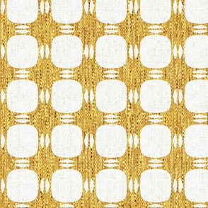 Yellow Textured Plaid P3a4