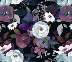 Moody Midnight Floral