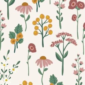 Botanic in off white (medium)
