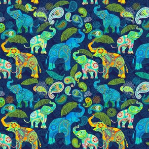 PAISLEY ASIAN ELEPHANT Medium