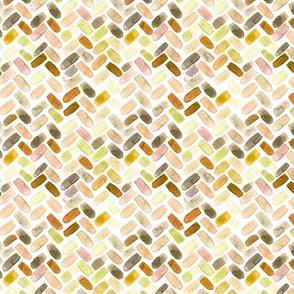 Watercolor herringbone in natural colors