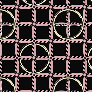 Hoops in Pink Poodle Skirt