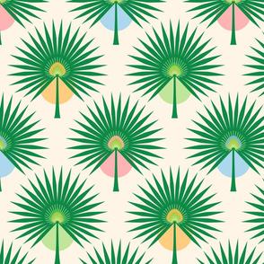 Fan Palm Leaves Medium