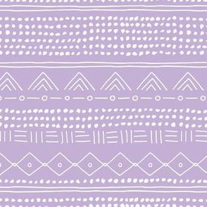 Minimal mudcloth bohemian mayan abstract indian summer love aztec design dusty lilac