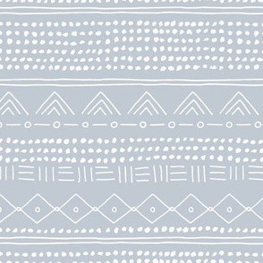 Minimal mudcloth bohemian mayan abstract indian summer love aztec design ice blue