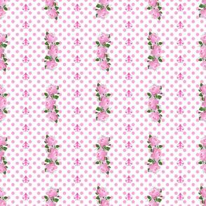 Pink Rose Stripes