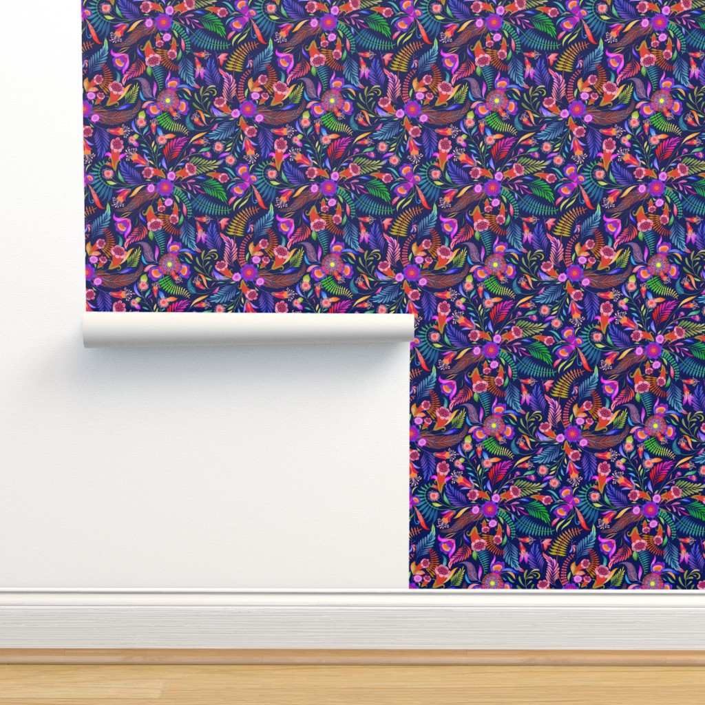 Isobar Durable Wallpaper featuring Paradise Boho for the Bold by vo_aka_virginiao