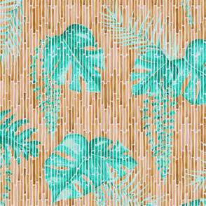 The Curtain to Tropical Paradise