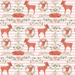 Sweet Pea Fawn Small Print