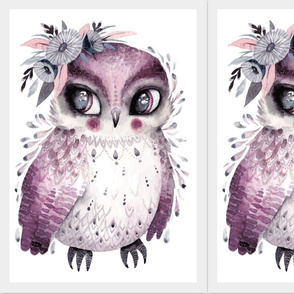 sweet boho owl