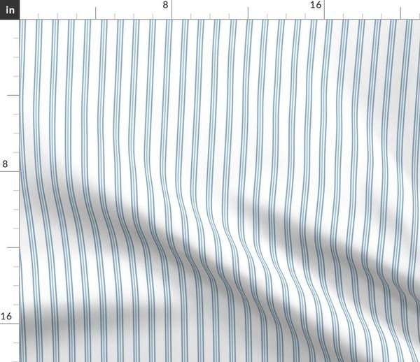 Fabric By The Yard Jetsetter Stripe Pilot Blue