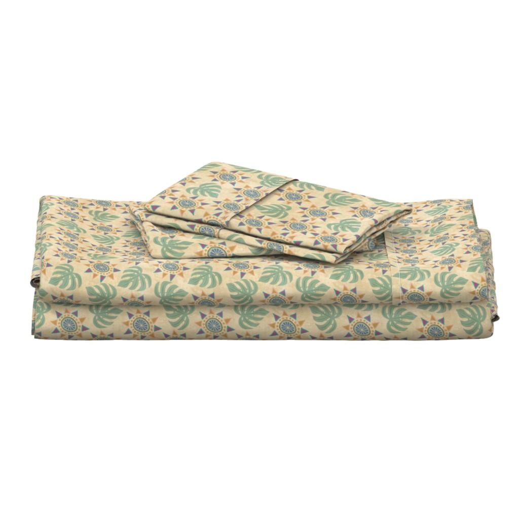 Langshan Full Bed Set featuring Bohemian Spirit ©Julee Wood by jewelraider